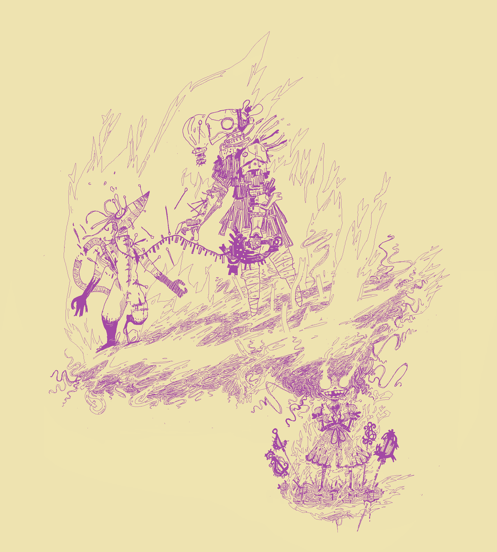 Sleepless Knights by Sky-Burial