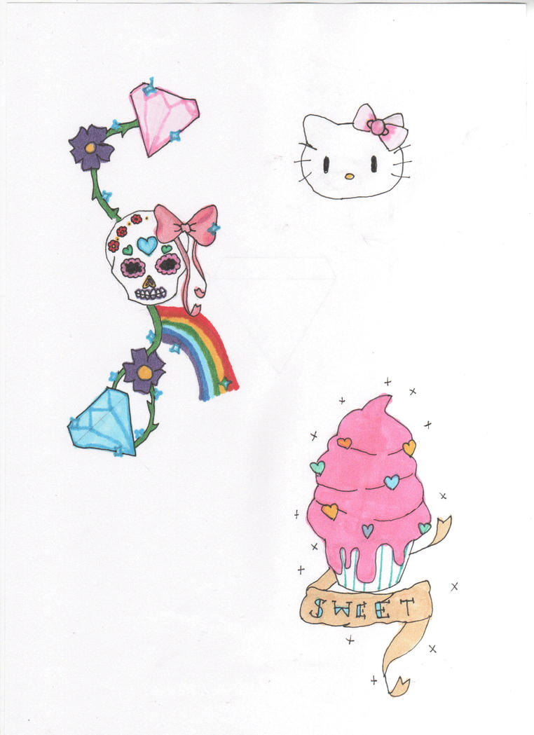 Girly Tattoo Design by