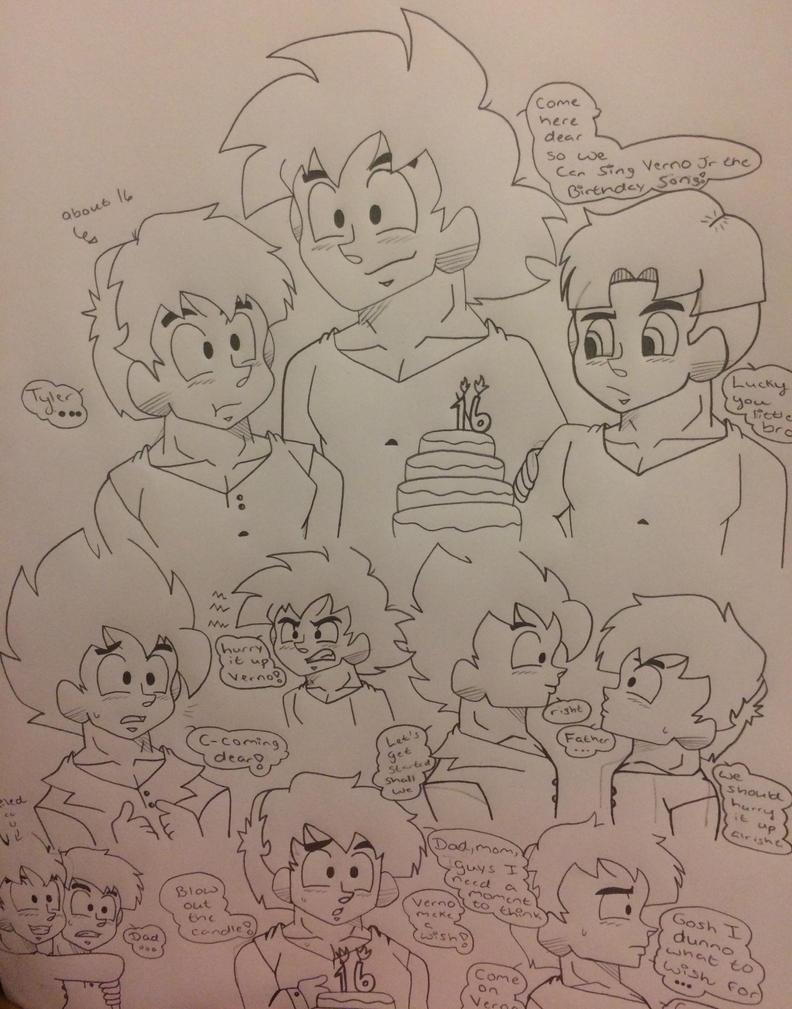 Verno 16th birthday by Ashartz123