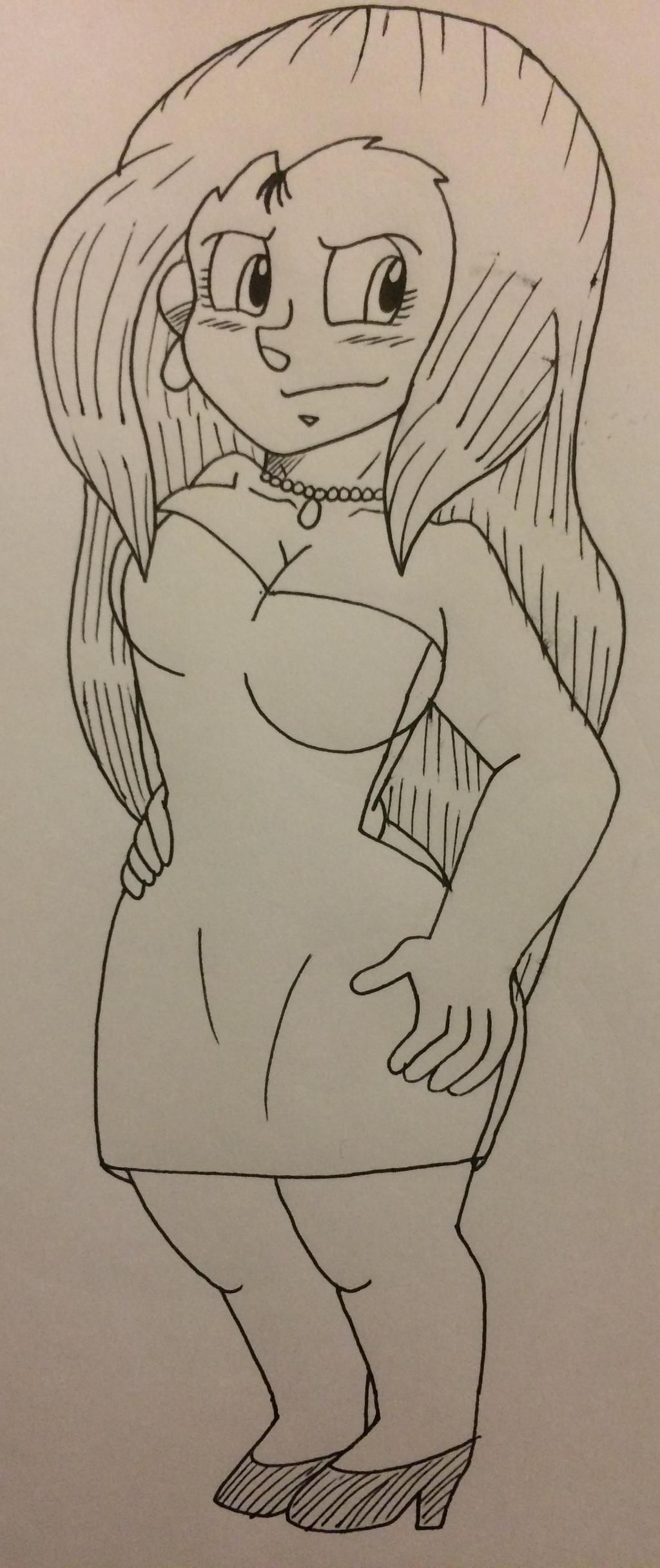 If I drew Reiko Mikami by Ashartz123