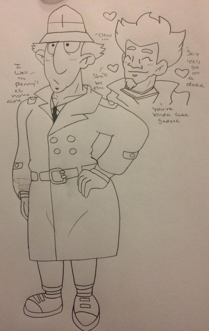 Inspector Gadget is cute? by Ashartz123