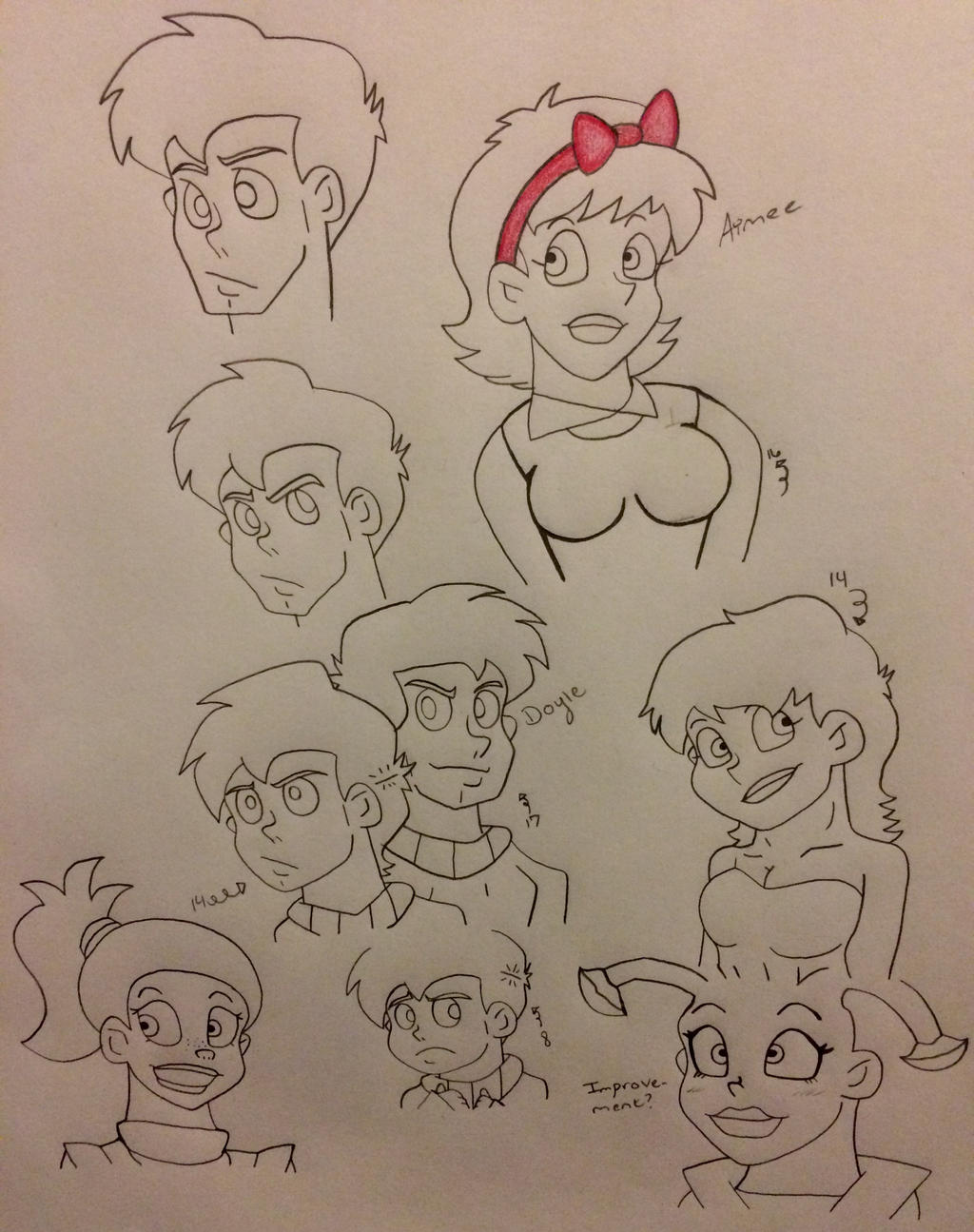 galaxy high doodles by Ashartz123