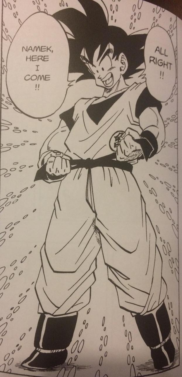 Goku ready for namek by Ashartz123