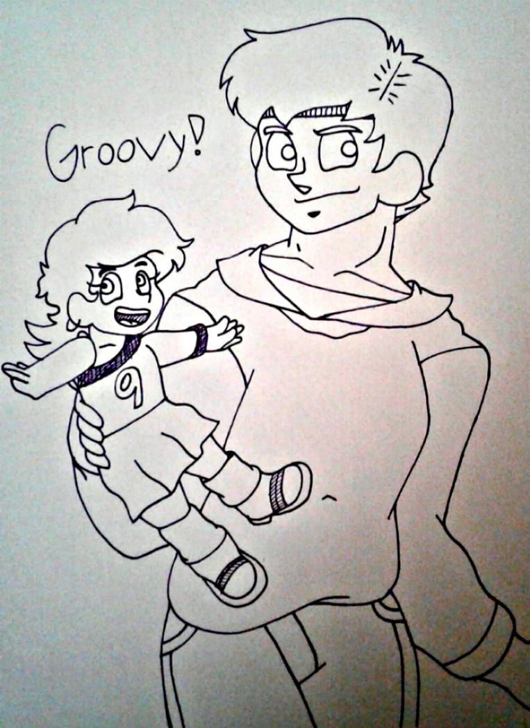 Groovy boys! by Ashartz123