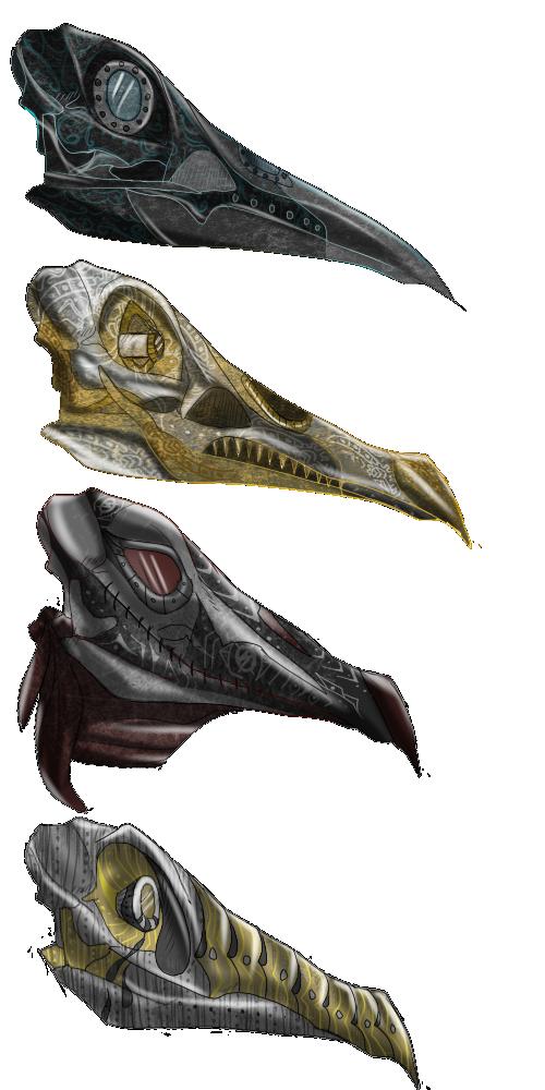 Lachlan Masks by X-x-Magpie-x-X