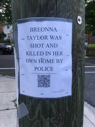 Sign for Breonna Taylor