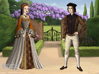 Katherine Howard and Thomas Culpeper