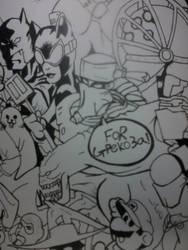 Drawing WIP part 2 (detail) by fafatonk3kusruk