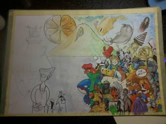 Finished Drawing by fafatonk3kusruk