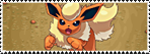 Stamp Pokemon 136 - Flareon by Colodife