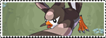 Stamp Pokemon 397 - Staravia