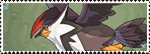 Stamp Pokemon 398 - Staraptor by Colodife