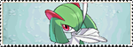 Stamp Pokemon 281-Kirlia by Colodife