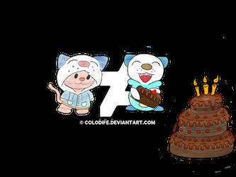 Neko Cake all Color