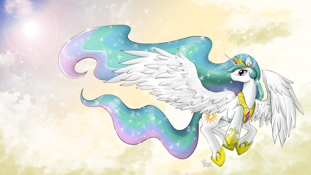 [MLP] Princess Celestia by yoonny92