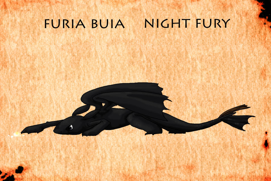 furia buia_night fury by Ababuforever