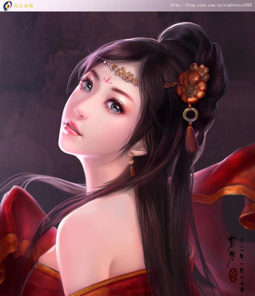 Diao Chan by Yu-Han