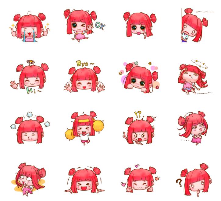 Pink-Girl by Yu-Han