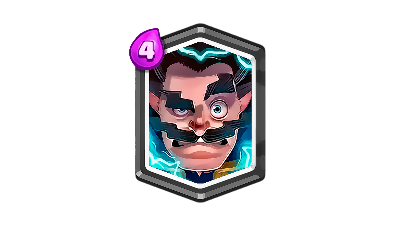Mago Electrico Clash Royale Remasterizado By