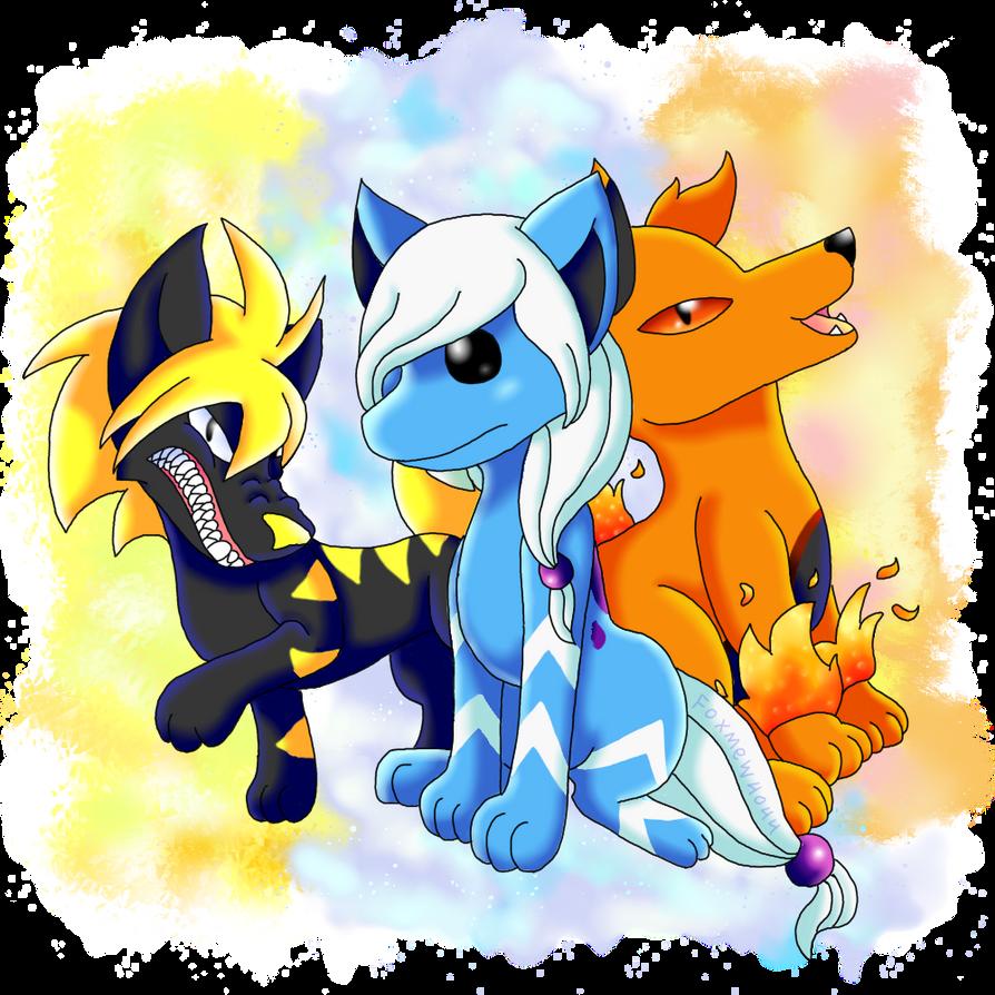 pokemon legendary dogs - 894×894