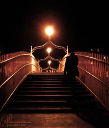 Night lights I by petrova
