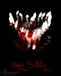 Happy birthday by petrova