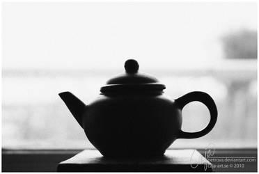 Tea silhouette