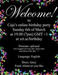 Birthday party by petrova