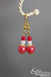 Maria earrings (OOAK) by petrova
