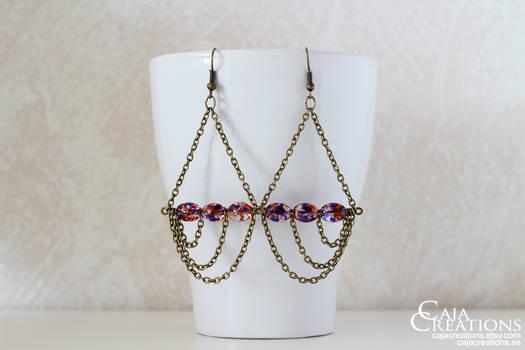 Wavemaster earrings