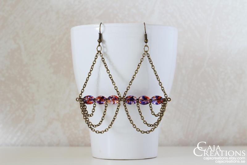 Wavemaster earrings by petrova