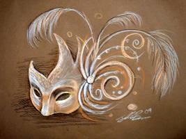 Mask Sketch by Jelly-716