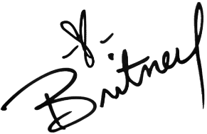 Britney Spears Signature PNG by MFSyRCM
