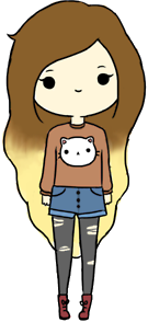 Doll Cat PNG by MFSyRCM