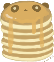 Hot Cakes Honey PNG by MFSyRCM