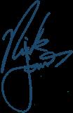 Nick Jonas Signature PNG by MFSyRCM