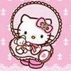 Display Hello Kitty Pink