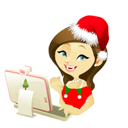 Doll PNG Vector Christmas