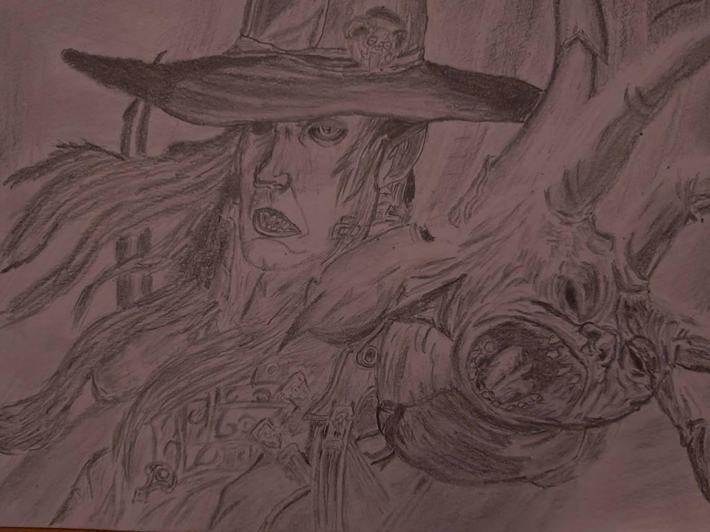Van Helsing sketch
