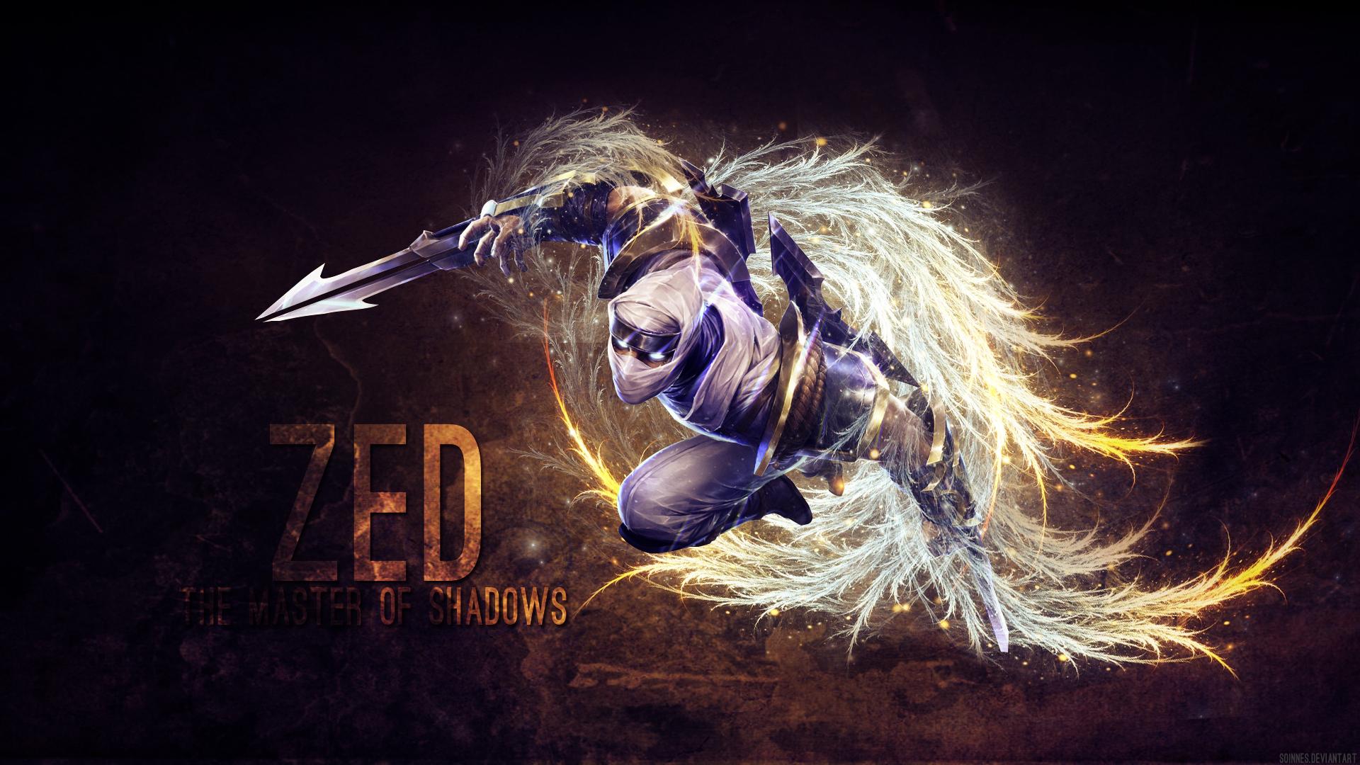 League Of Legends Zed Wallpaper By Soinnes On Deviantart