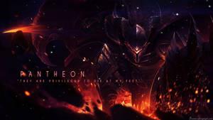 League of Legends - Pantheon Wallpaper