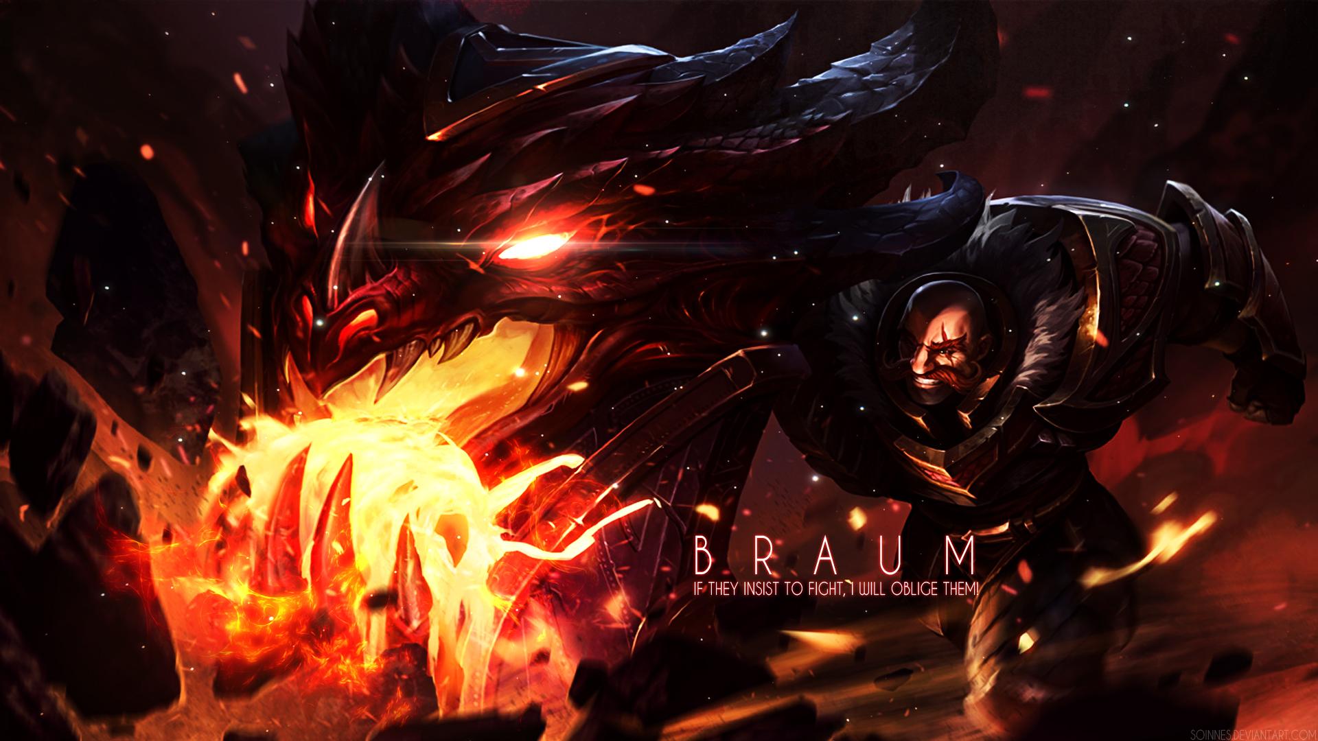 League of Legends - Braum Wallpaper by Soinnes on DeviantArt