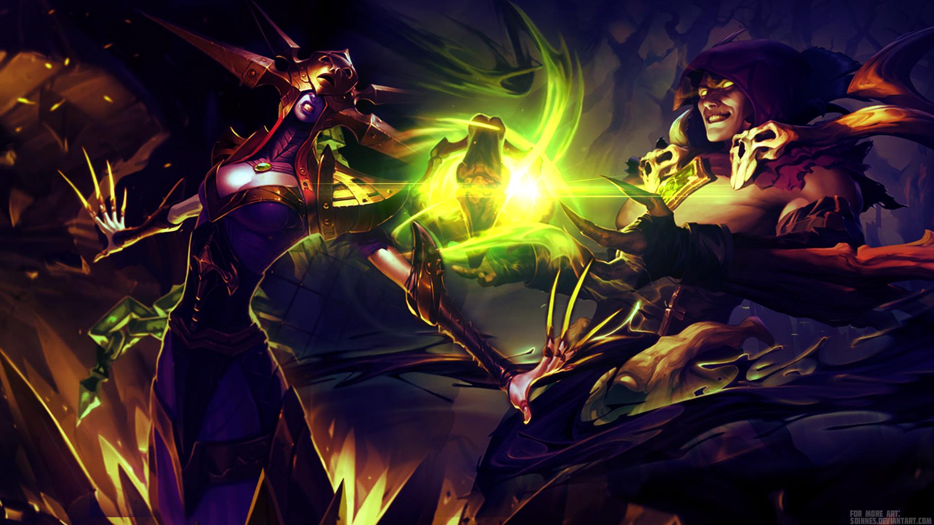 League of Legends - Lissandra Vladimir Wallpaper by ...