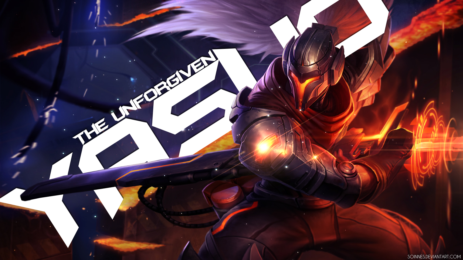 Yasuo the Unforgiven - League of Legends Wallpaper by SoinnesYasuo League Of Legends