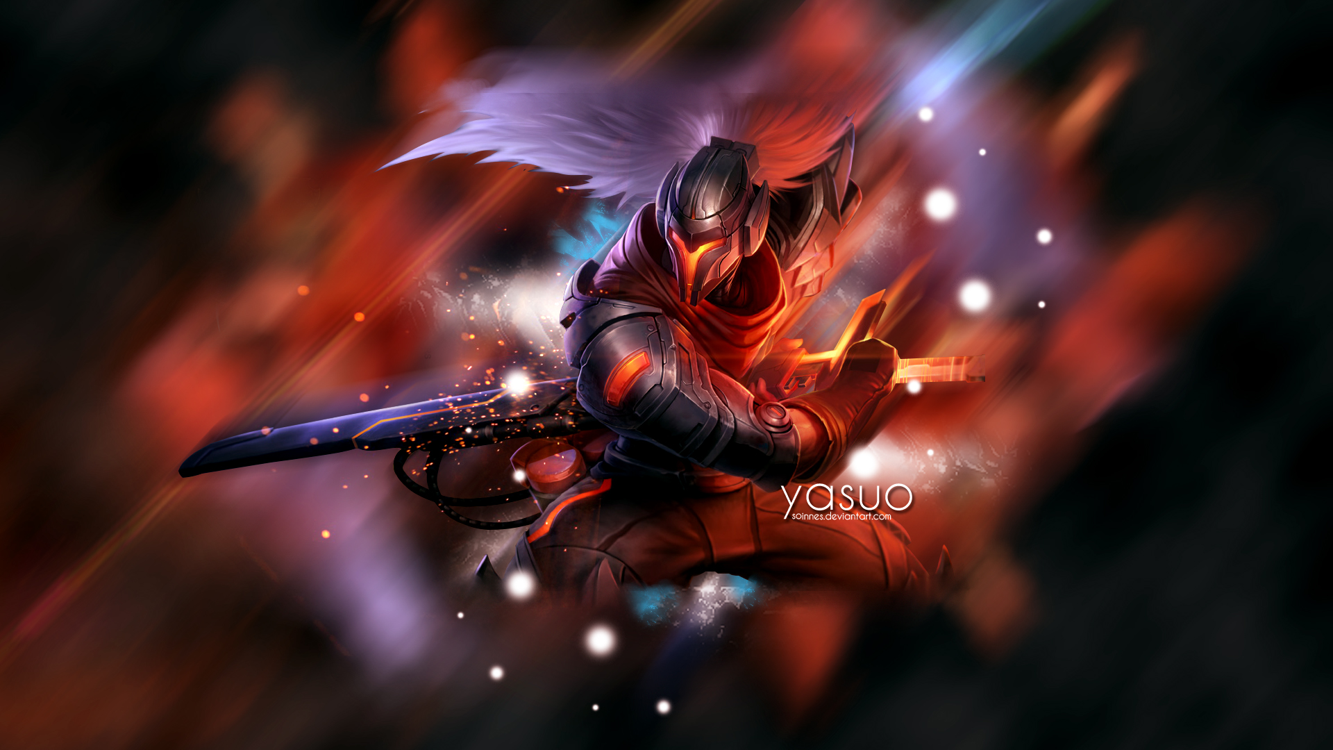 League Of Legends Yasuo Wallpaper: Yasuo By Soinnes On DeviantArt