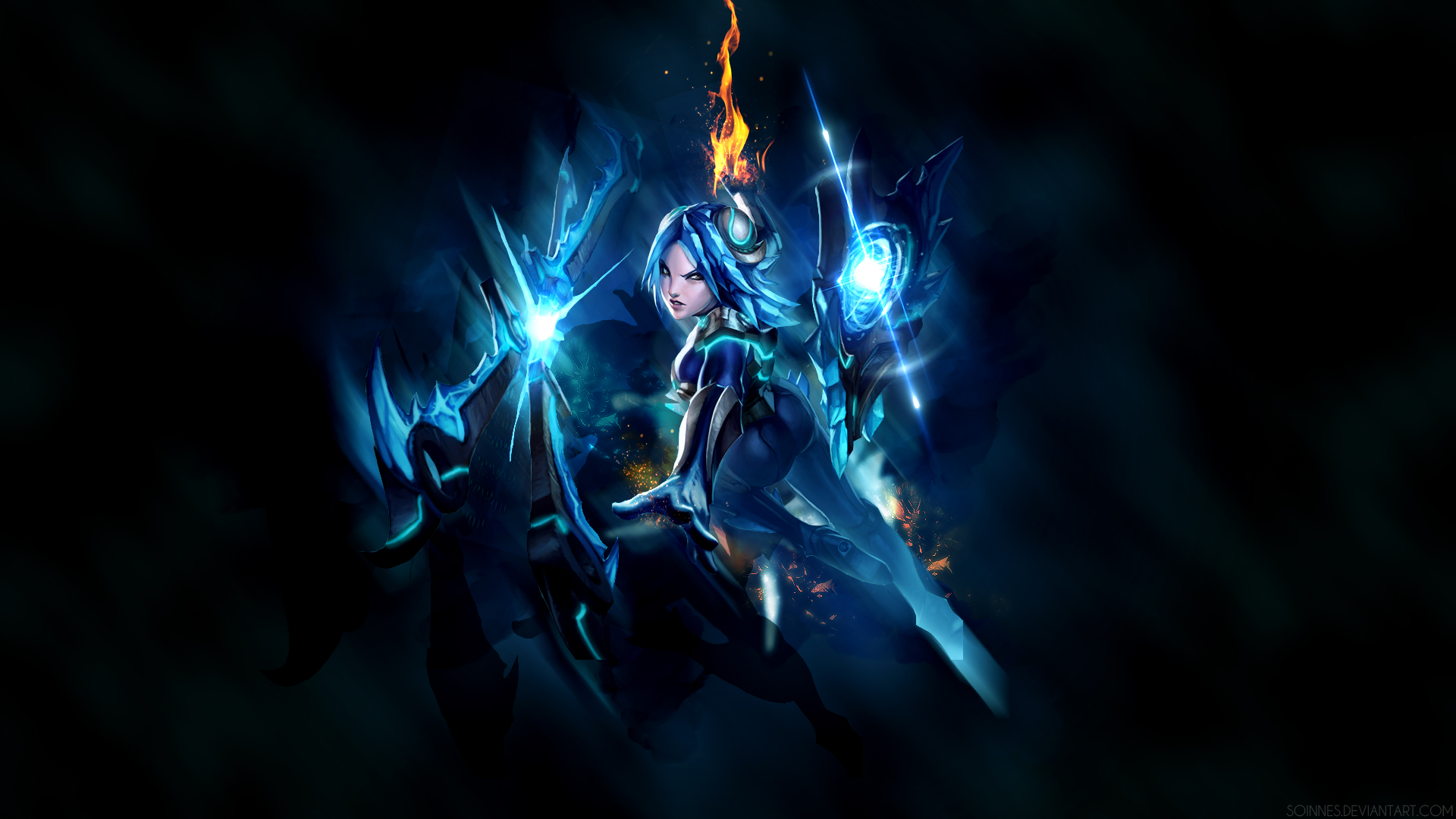 League Of Legends Irelia Wallpaper By Soinnes On Deviantart
