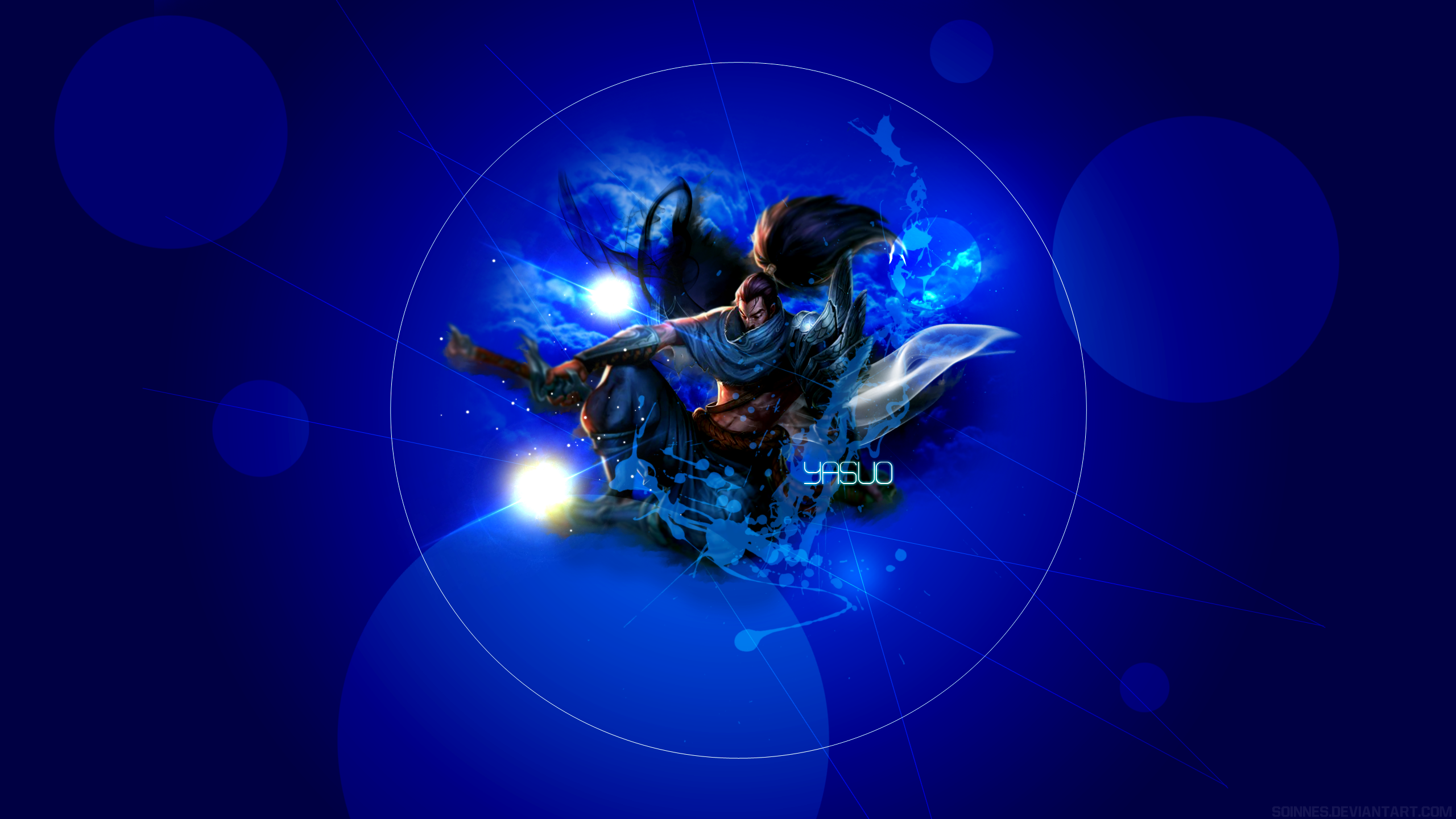 League of Legends Yasuo Wallpaper by Soinnes on DeviantArt