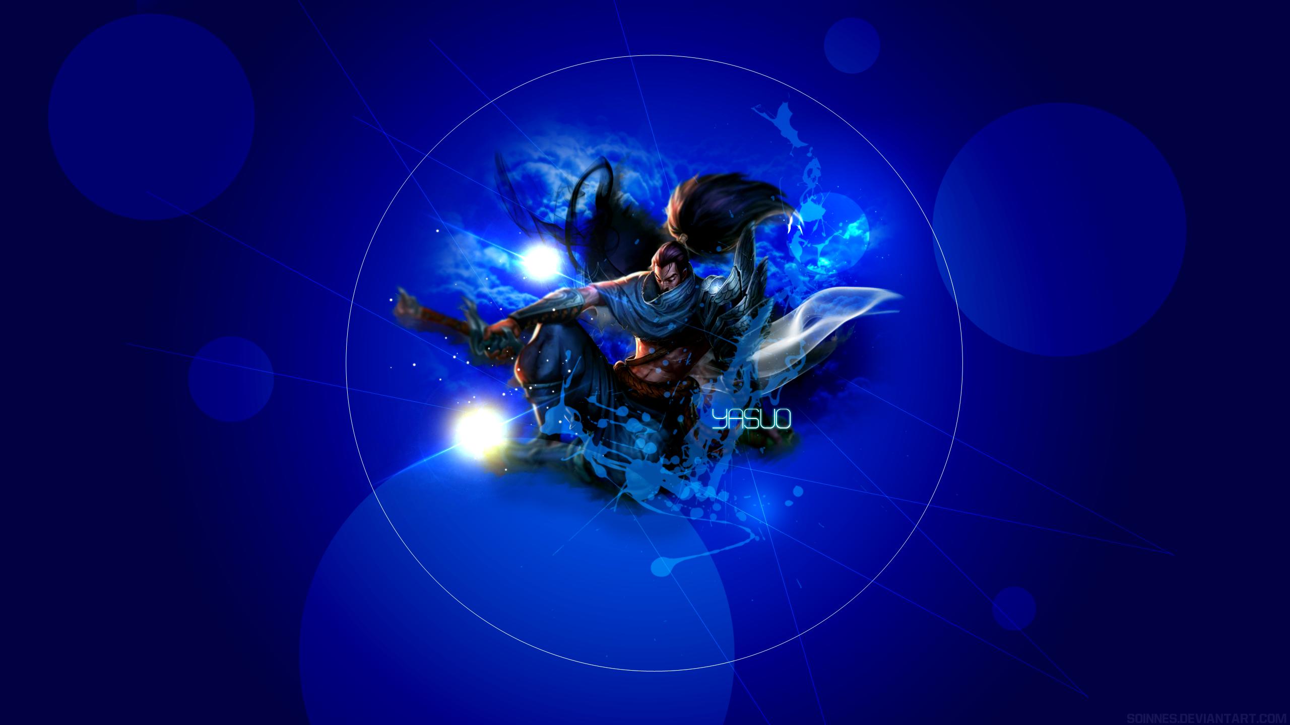 League Of Legends Yasuo Wallpaper: Yasuo Wallpaper By Soinnes On DeviantArt