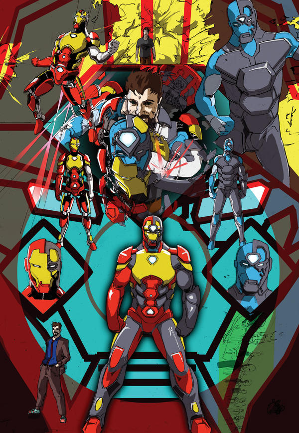 IRONMAN brothers by chiryogatito