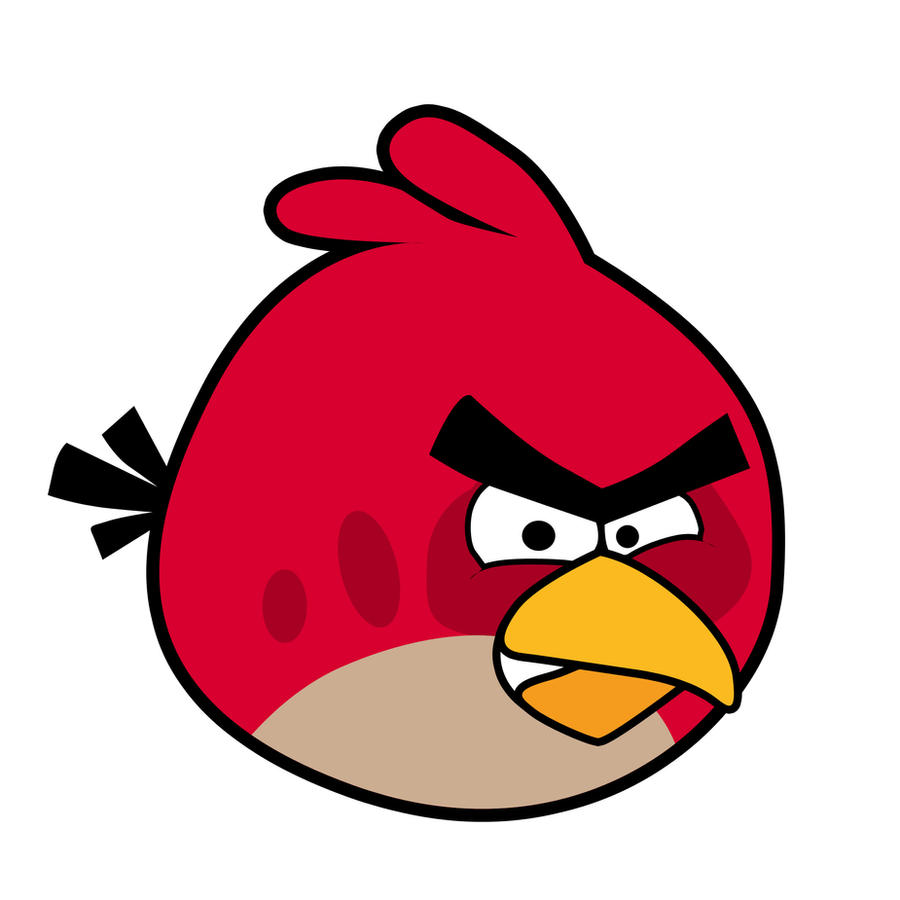 angry birds toons red bird pictures to pin on pinterest pinsdaddy. Black Bedroom Furniture Sets. Home Design Ideas